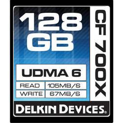 Delkin Devices 128GB CompactFlash Memory Card 700x UDMA