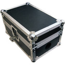 On-Stage CDJ Player Flight Case (Black with Chrome-Plated Hardware)