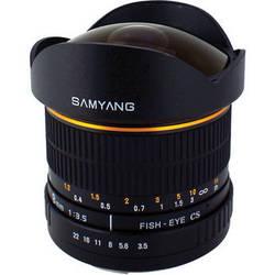 Samyang 8mm Ultra Wide Angle f/3.5 Fisheye Lens for Pentax K Mount