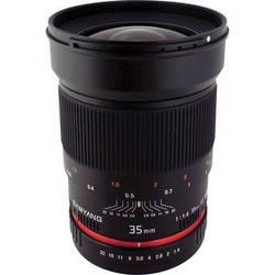 Samyang 35mm f/1.4 Wide-Angle US UMC Aspherical Lens for Olympus