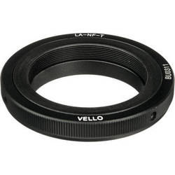 General Brand Lens Mount Adapter - T Mount Lens to Nikon F Mount Camera