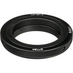 Vello T-Mount Lens to Nikon F-Mount Camera Lens Adapter