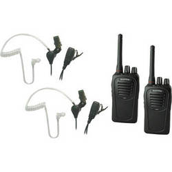 Eartec 2-User SC-1000 Two-Way Radio System with SST Headsets