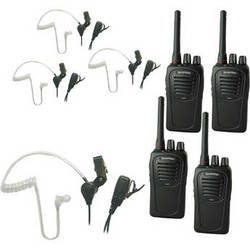 Eartec 4-User SC-1000 Two-Way Radio System with SST Headsets