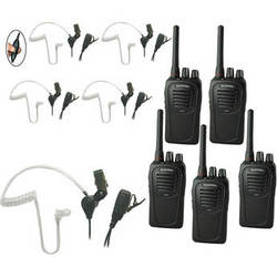 Eartec 5-User SC-1000 Two-Way Radio System with SST Headsets