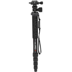 Oben CTM-2500 5-Section Carbon Fiber Monopod with VH-R2 Tilt Monopod Head Kit