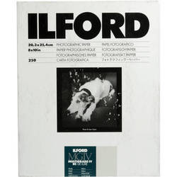 "Ilford Multigrade IV RC Deluxe MGD.44M Black & White Variable Contrast Paper (8 x 10"", Pearl, 250 Sheets)"