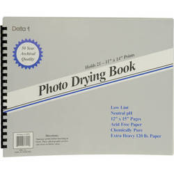 """Delta 1 Photo Drying Book (12 x 15"""")"""