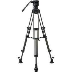 Libec LX5 M Tripod With Pan and Tilt Fluid Head and Mid-Level Spreader