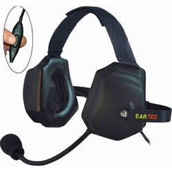 Eartec XTreme Inline PTT Headset for SC-1000 Radio Transceiver
