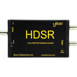 Burst Electronics HDSR HD/SD SDI 2-Output Distribution Amplifier