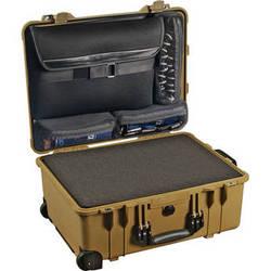 Pelican 1560LFC Case With Foam In Base (Desert Tan)
