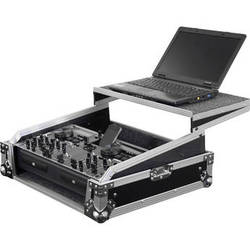Odyssey Innovative Designs Flight Zone Glide Style Rackmount Case for DJ Controllers & Front Load CD/Digital Media Mixers