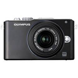 Olympus E-PL3 Mirrorless Micro Four Thirds Digital Camera with 14-42mm II f/3.5-5.6 Lens (Black)