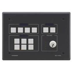 Kramer 12-Button Master Room Controller with Digital Volume Knob (Black)