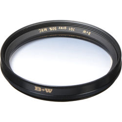 B+W 58mm Hard Edge Graduated Neutral Density 701 MRC 0.3 Filter (1-Stop)