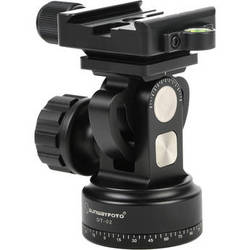 Sunwayfoto DT-02D50 Tilt Head with Panning Base and Quick-Release Clamp