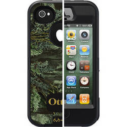 Otter Box Defender Case for iPhone 4/4s (Realtree Max 1 Blaze)