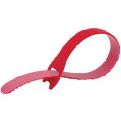"Kupo EZ-TIE Simple Cable Ties 0.78 x 7.86"" (2 x 20 cm) - 50 Pack, Red"