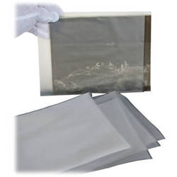 "Archival Methods High-Density Poly Envelopes - 6.75 x 8.75"" 100 Pack"
