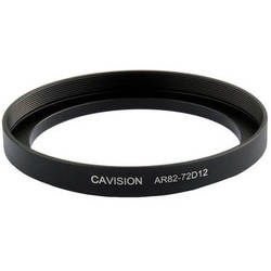 Cavision 72 to 82mm Threaded Step-Up Ring