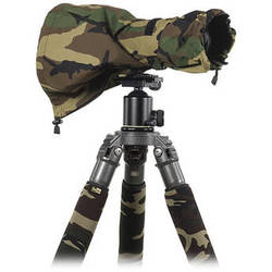 LensCoat RainCoat RS (Rain Sleeve) (Medium, Forest Green Camo)
