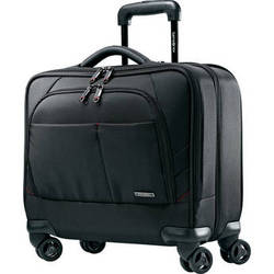 """Samsonite Xenon 2 Spinner Mobile Office with 15.6"""" Laptop Compartment (Black)"""