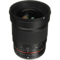 Samyang 24mm f/1.4 ED AS UMC Wide-Angle Lens for Olympus Four-Thirds