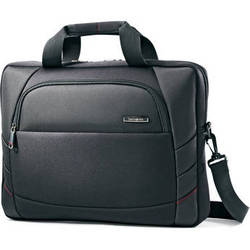 """Samsonite Xenon 2 Slim Brief Bag with 15.6"""" Laptop Pocket (Black)"""