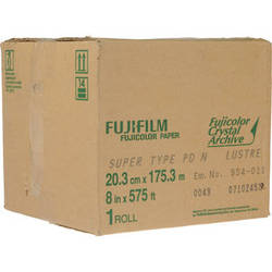 "Fujifilm Fujicolor Crystal Archive Professional Paper Super Type PD (8"" x 575')"