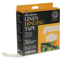 "Lineco Self-Adhesive Linen Tape - 1.25"" x 150'"