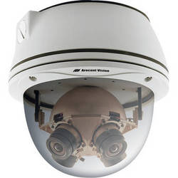 Arecont Vision SurroundVideo Series 20MP Outdoor Dome Camera with 4 Sensors