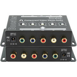 Shinybow SB-2820 1 x 1 Component Video and Audio Booster (RCA)