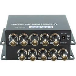 Shinybow SB-3702BNC 1 x 9 Composite Video Digital Distribution Amplifier