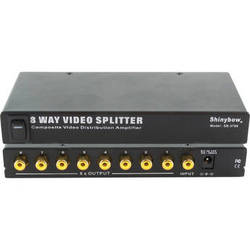Shinybow SB-3706 1 x 8 Composite Video Distribution Amplifier