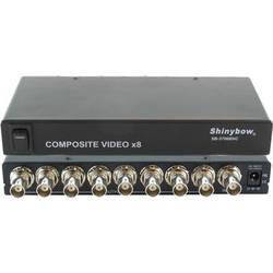 Shinybow SB-3706BNC 1 x 8 Composite Video Distribution Amplifier