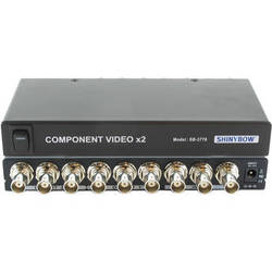 Shinybow 1 x 2 Component Video Distribution Amplifier