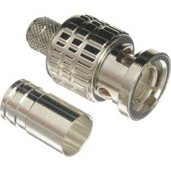 Canare 3.0 GHz 75-ohm BNC Plug for Belden 1694A Cable