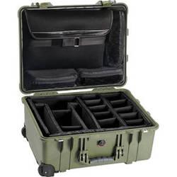 Pelican 1560SC Studio Case (Green)
