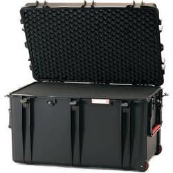 HPRC 2800WF Wheeled Trunk Case with Cubed Foam Interior (Black)