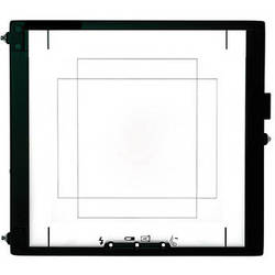 Mamiya 36 x 48 Focusing Screen for RZ67 Cameras and an Aptus II 7 Digital Back