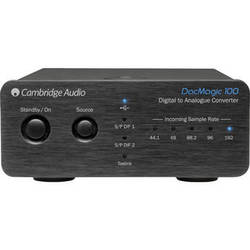 Cambridge Audio DacMagic 100 - Digital to Analog Converter (Black)