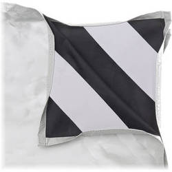 "Chimera White/Black Fabric for 42 x 82"" Panel Frame"