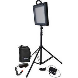 Bescor LED-500SB Studio Light and Battery Kit (100-240VAC)