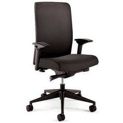 Winsted 24/7 High-Back Chair (Black)