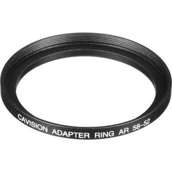 Cavision 52mm to 58mm Step-up Adapter Ring