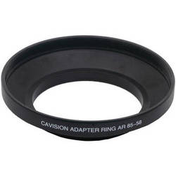 Cavision 58mm Conical Step-up Ring with 85mm Outside Diameter