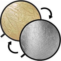 "Impact Collapsible Circular Reflector Disc - Gold/Silver - 12"""