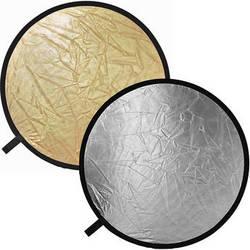 "Impact Collapsible Circular Reflector Disc - Gold/Silver - 32"""