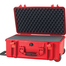 HPRC 2550 Wheeled Hard Case with Cubed Foam Interior (Red)